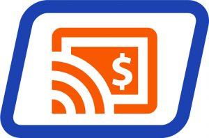 Wireless Site Surveys and Installation Sign Orange and Blue Icon