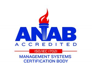 ANAB Accredited Logo with ISO Certification